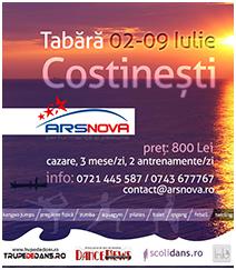 Tabara sportiva la Costinesti cu Ars Nova!